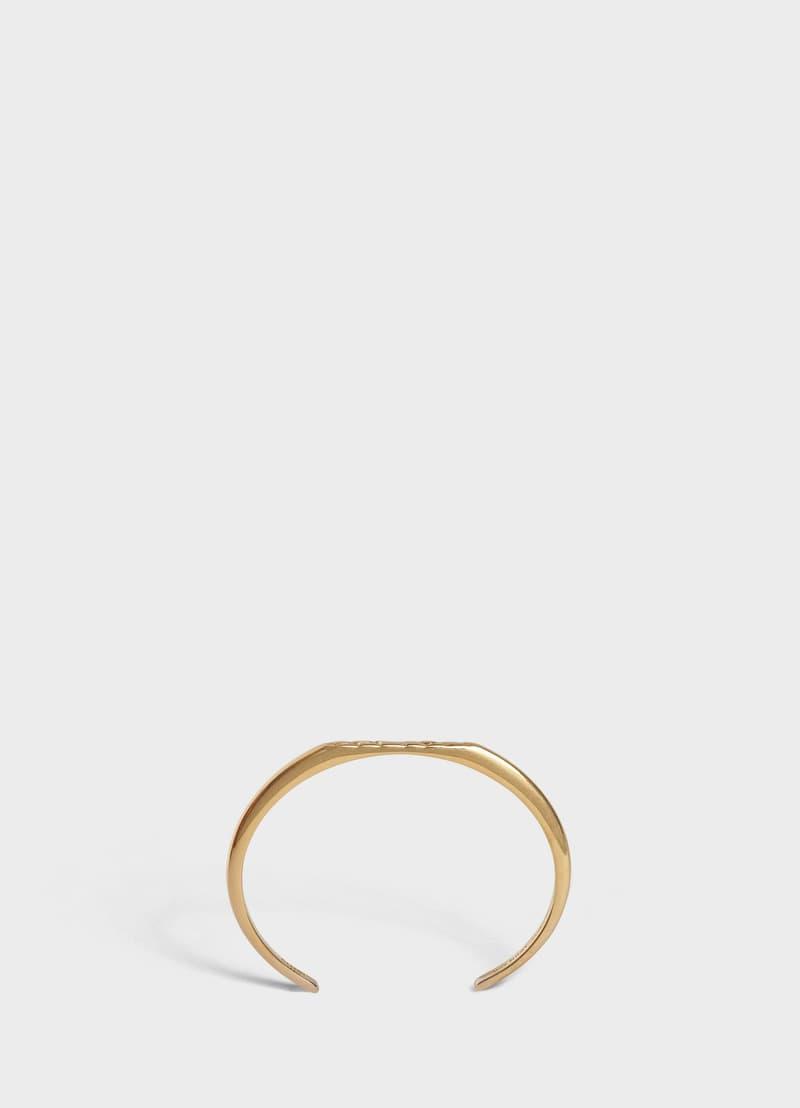 Celine Spring 2019 Jewelry Collection Lookbook Hedi Slimane Alphabet Necklace