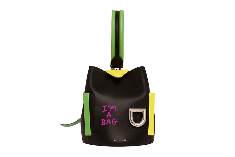 Danse Lente Josh Shoulder Bag Black Ginger Cotone