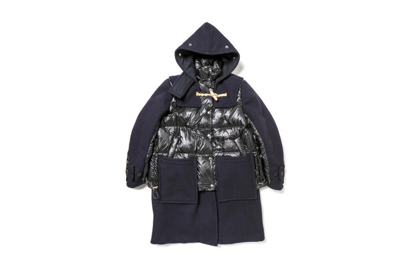 Gloverall x Sacai Outerwear Collection Jackets Puffer Parka