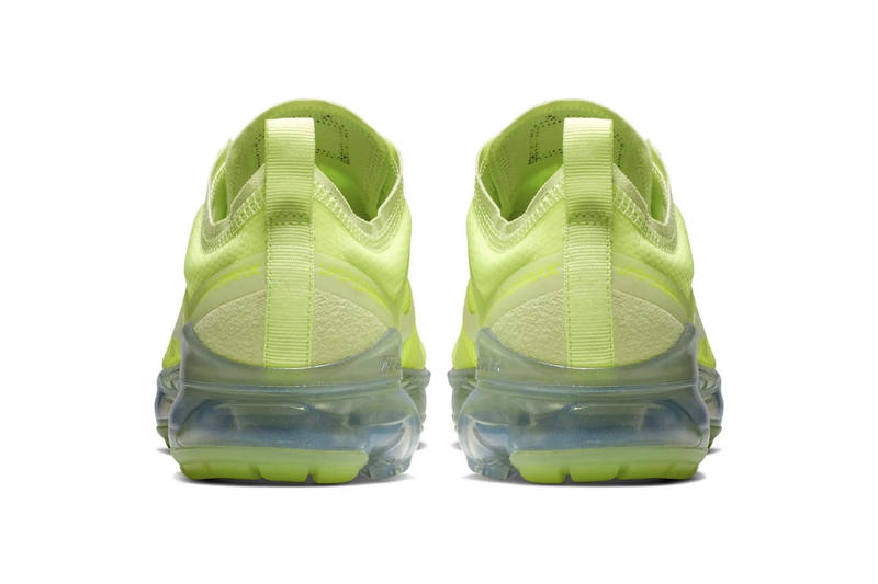 "Nike's New Air VaporMax 2019 in ""Volt Glow"" Yellow Green"