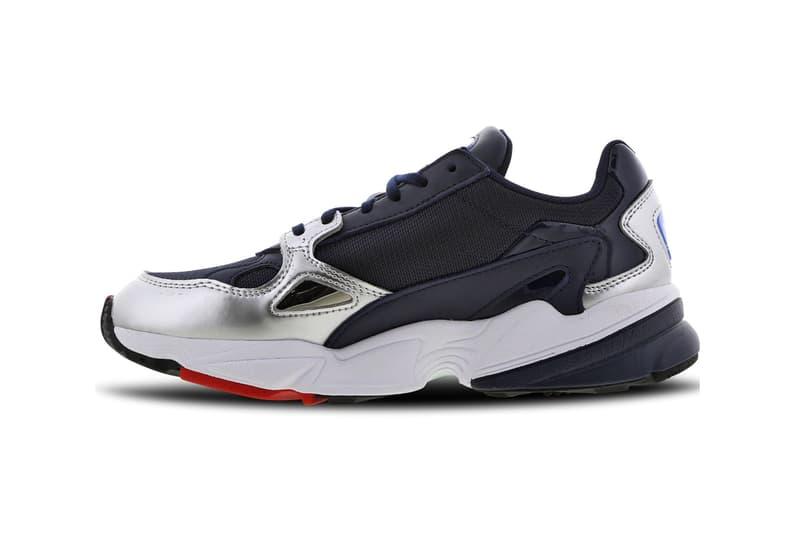 adidas Originals Falcon Collegiate Navy Silver Metallic