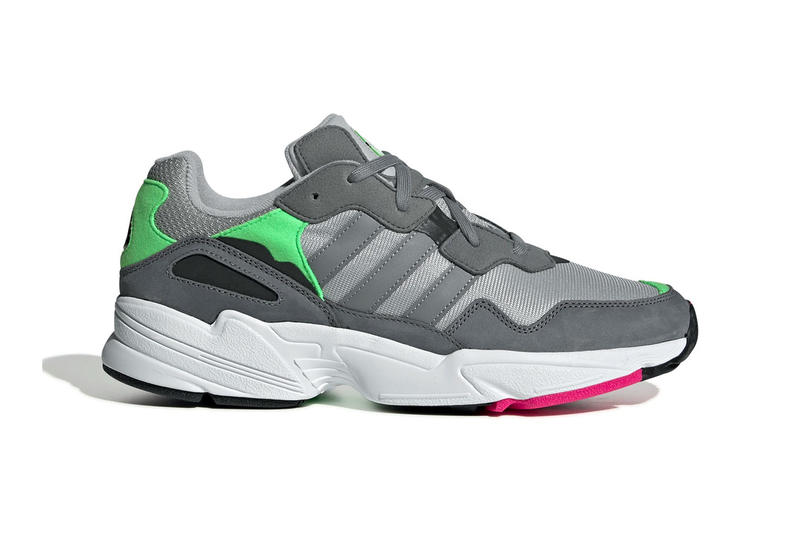 on sale b48be 12254 adidas Originals Yung 96 New Colorways Grey Pink Orange Navy White Trainers  Sneakers