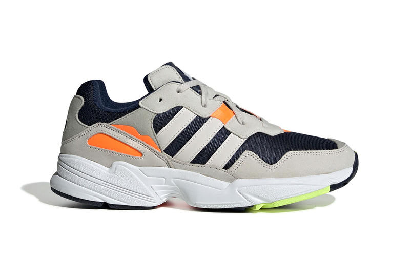 adidas Originals Yung 96 New Colorways Grey Pink Orange Navy White Trainers Sneakers