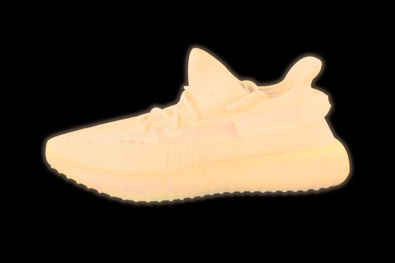 YEEZY BOOST 350 V2 Glow-in-the-Dark Release Sneaker Shoe Green Orange Drop