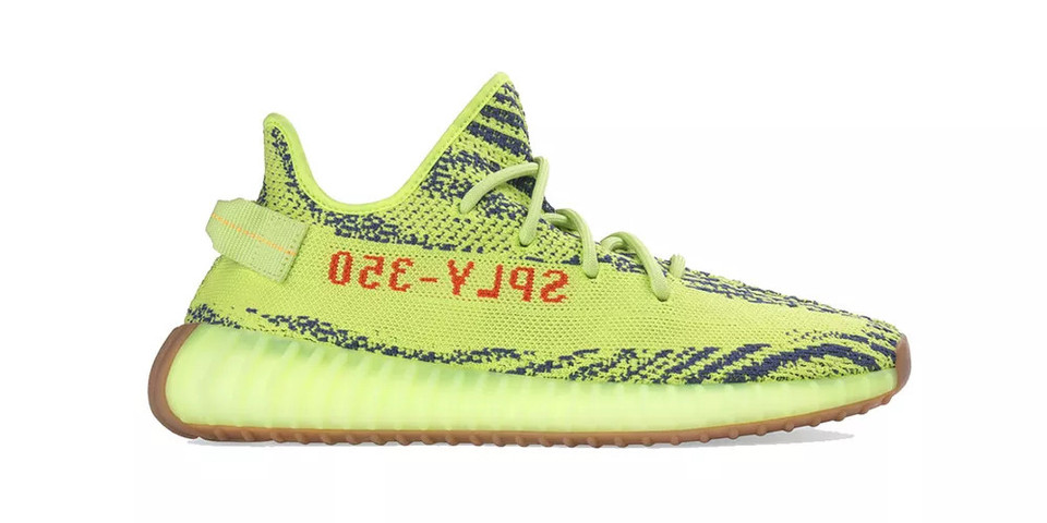 285b191646a1c YEEZY BOOST 350 V2 Semi Frozen Yellow Store List