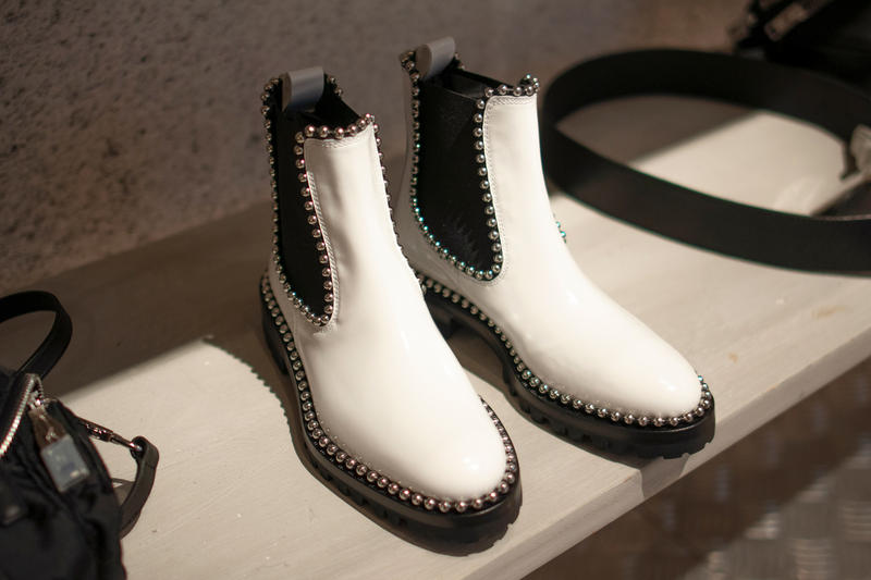Alexander Wang Spring 2018 COLLECTION 2 Boots White