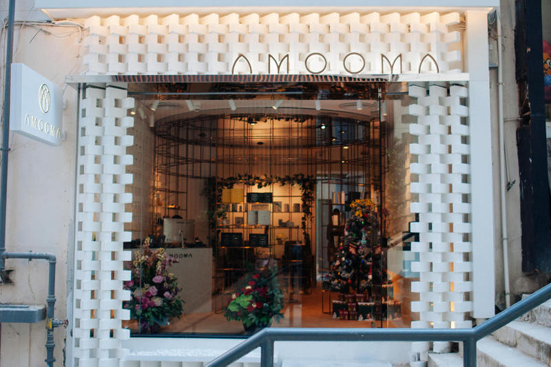 amooma luxury spa hong kong wan chai facial skincare face peel mask