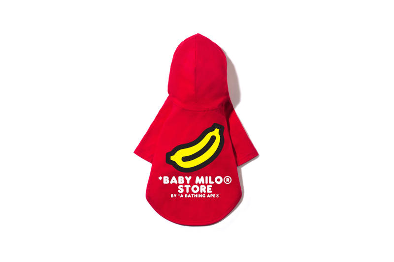 BAPE Baby Milo Pet Collection Hoodie Red