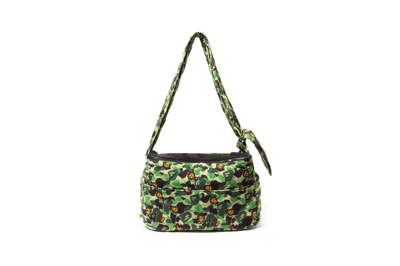 BAPE Baby Milo Pet Collection Carrier Green