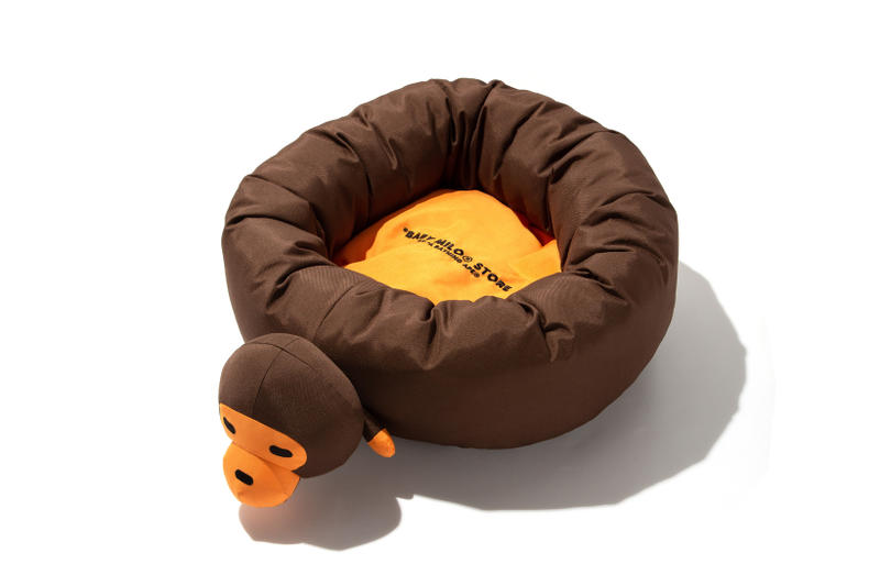 BAPE Baby Milo Pet Collection Bed Brown