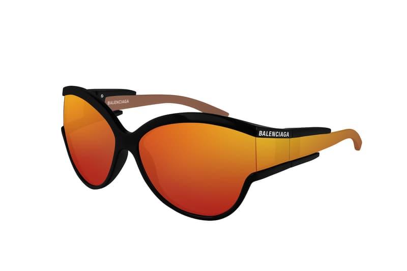 Balenciaga Releases Exclusive Eyewear Collection Kering Dover Street Market Release Sporty Shades