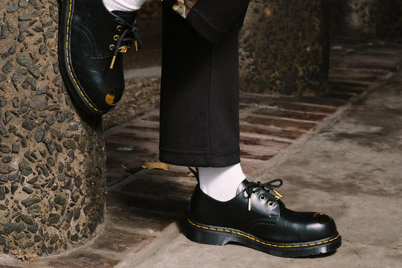 BAPE x Dr. Martens 1490 Petri Shoe Black