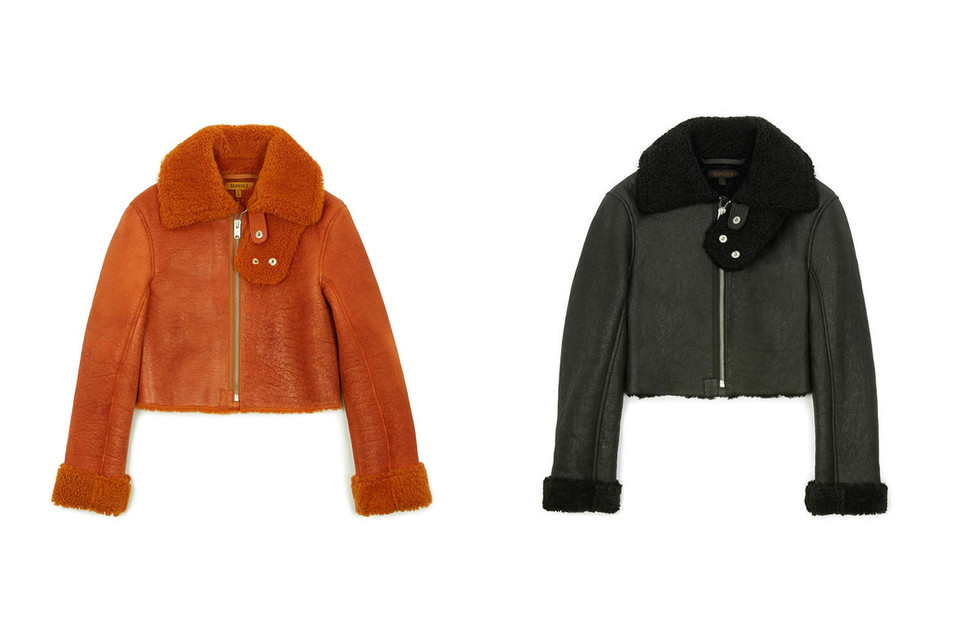 1255c76b9101a YEEZY Shearling Coats on Sale With Discount Price
