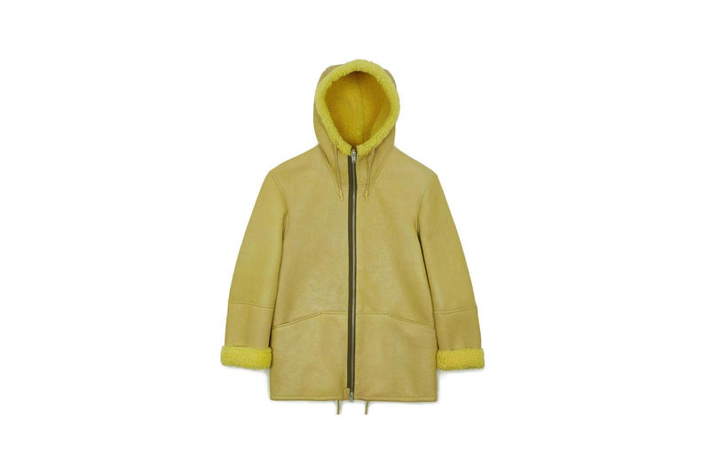 YEEZY Hooded Shearling Yellow