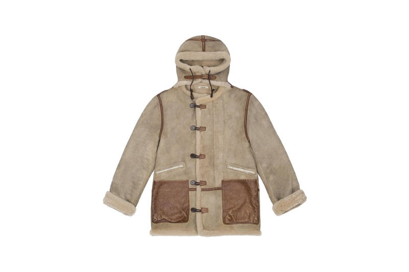 YEEZY Vintage Shearling Brown