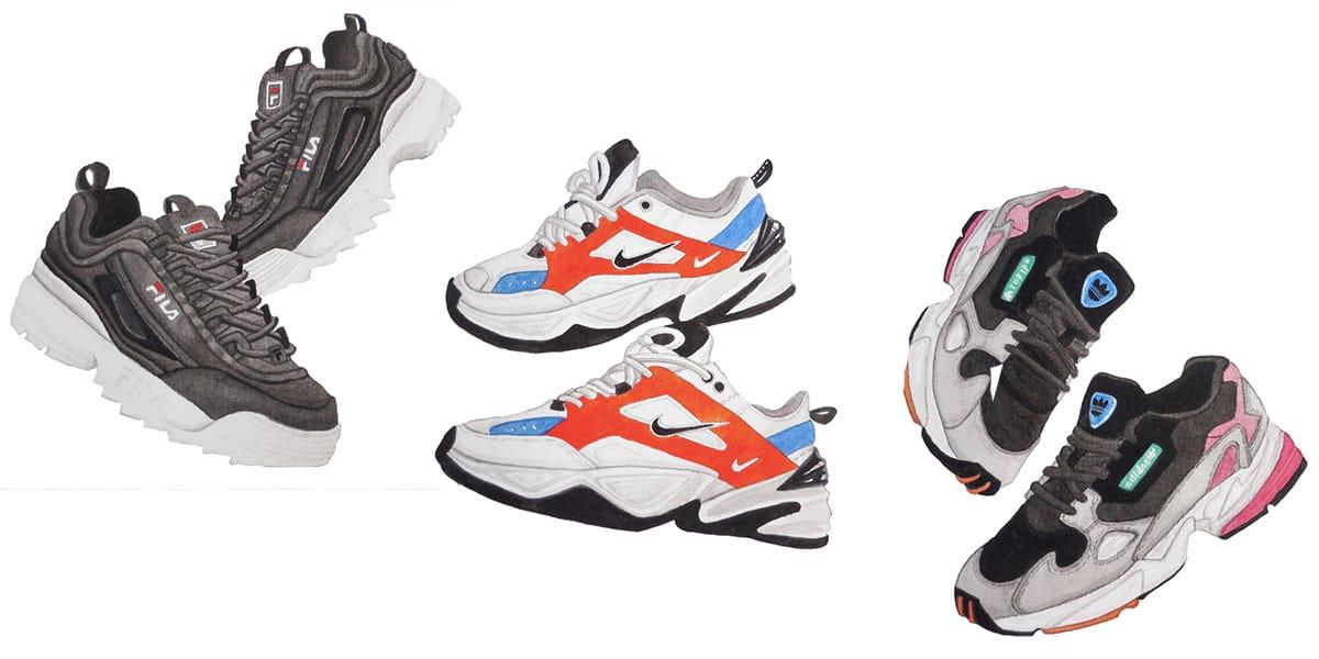 Best Sneakers of 2018 including FILA