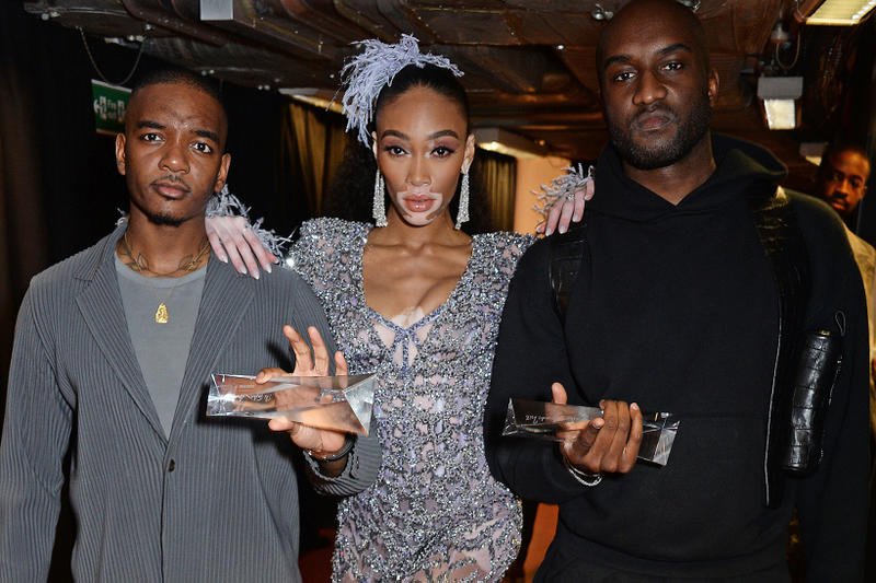 british fashion awards 2018 bfc supreme gucci off white burberry balenciaga prada virgil abloh kaia gerber kim jones