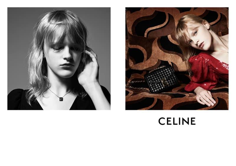 hedi slimane first celine womenswear campaign spring summer 2019