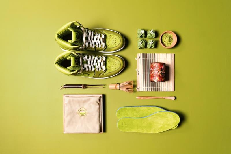 Air Jordan 1 Matcha Green Tea Custom