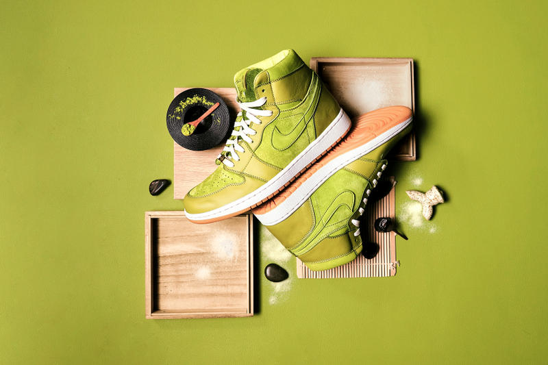Air Jordan 1 Matcha Green Tea Custom