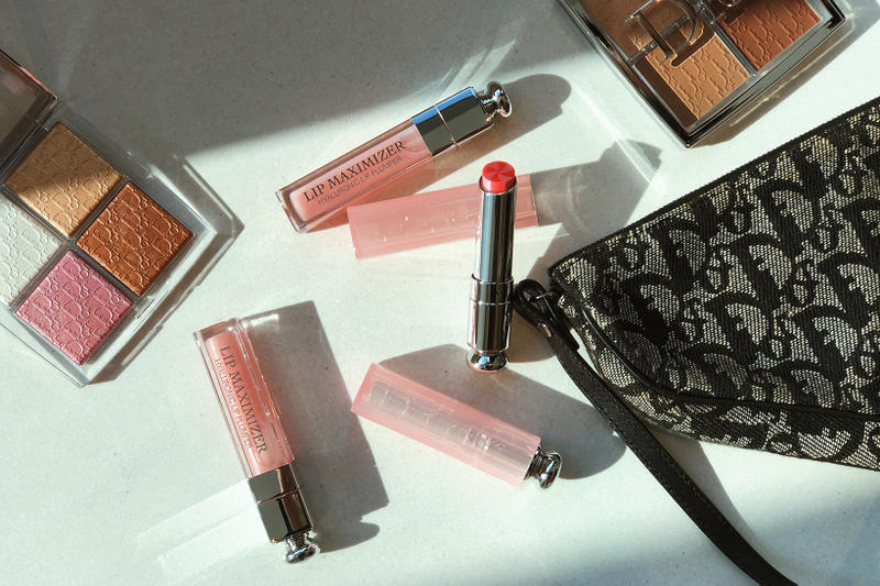 dior addict makeup beauty lip maximizer glow peter philips spring 2019 candy