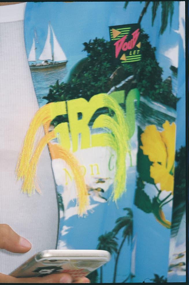 doublet spring summer 2019 ss19 yuka mizuhara lookbook