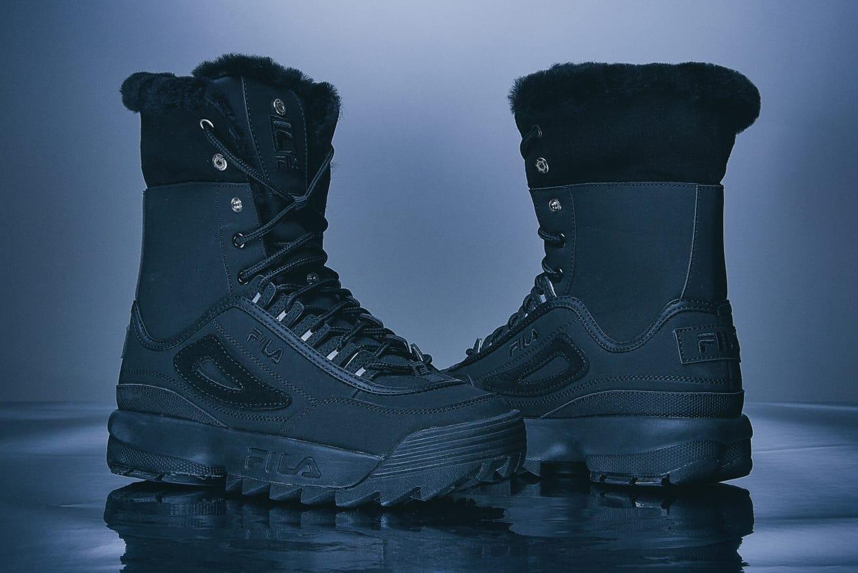 FILA Disruptor 2 Sneaker Boots Black