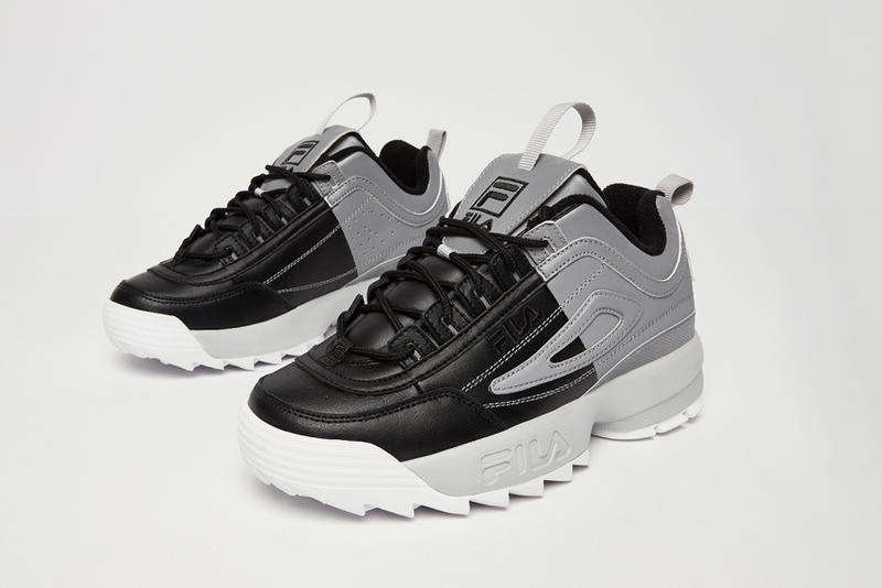FILA Disruptor 2 Split Red/Pink Black/Grey Sneaker Release Where to Buy