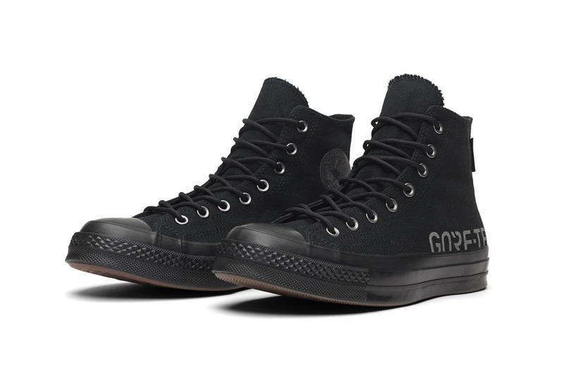 Converse GORE TEX Chuck 70 Black Orange Pink