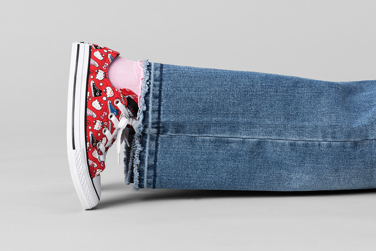 d2a44f64b38b1 The New Hello Kitty x Converse Collaboration Is Cuter Than You'd Imagine