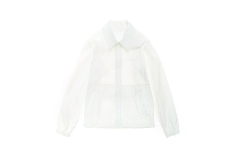 Parley x Helmut Lang Stadium Jacket White