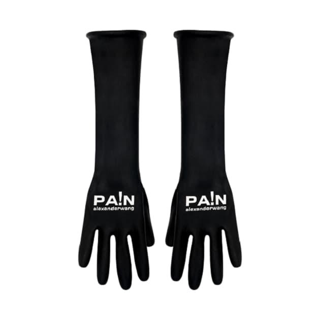Alexander Wang NTWRK T Shirt Gloves Black