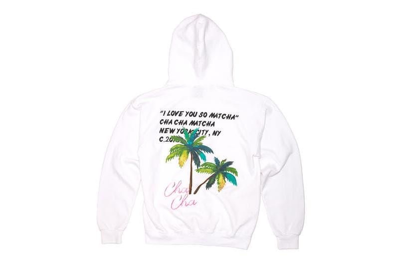 Virgil Abloh Cha Cha Matcha Hoodies T Shirt White Black Pink