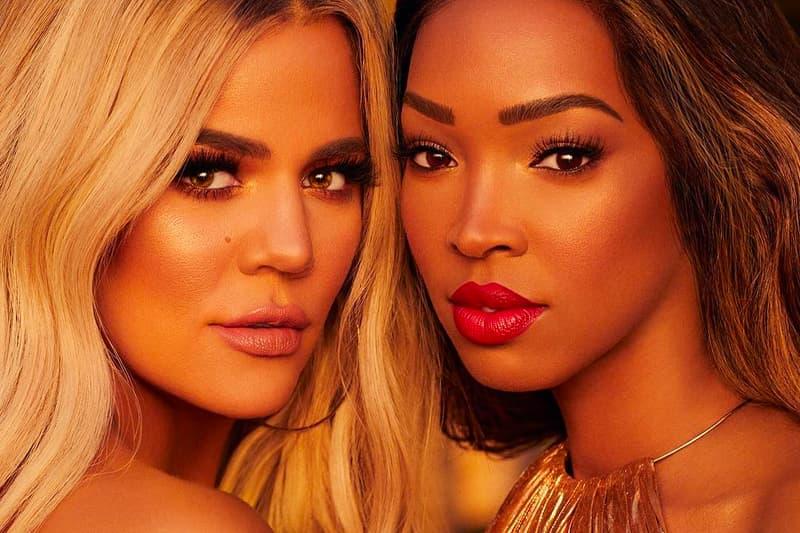 Khloe Kardashian Malika Haqq BECCA Cosmetics Makeup Collaboration 2018