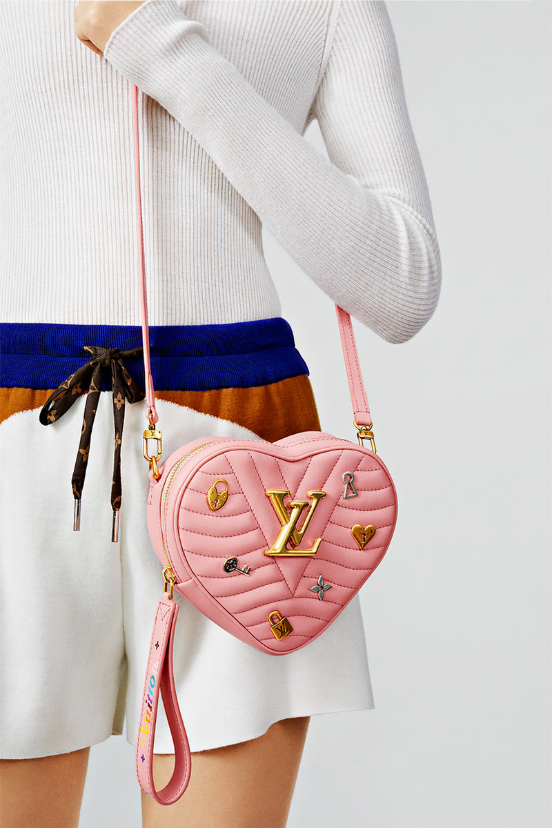 Louis Vuitton Heart-Shaped New Wave Bags   HYPEBAE 1c42a56bd5