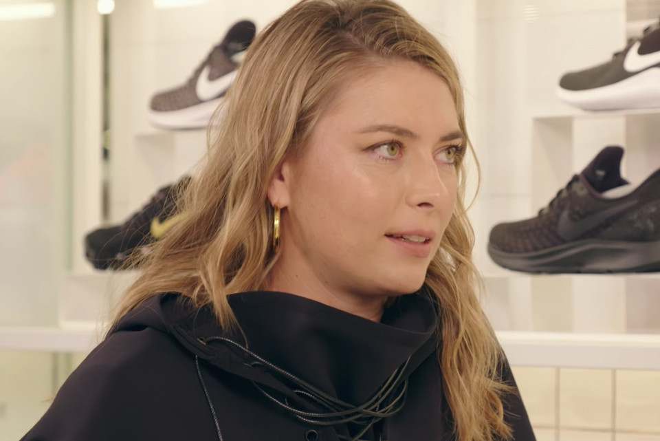 e786151f88d Maria Sharapova Says She Prefers Sneakers Over Heels on  Sneaker Shopping