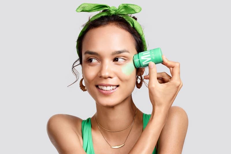 milk makeup prespring 2019 skincare beauty cooling eye patches detoxifying brightening face mask watermelon matcha green tea