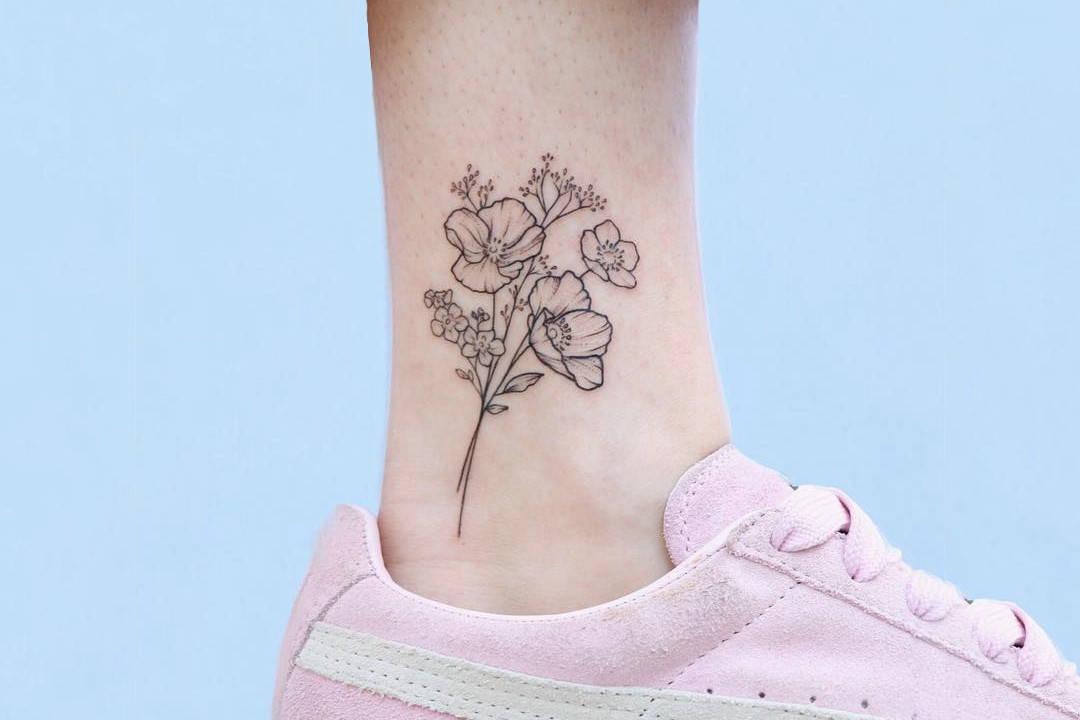 Amazing Line Art Tattoos
