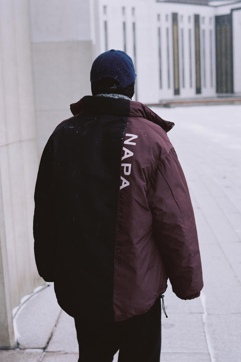 Napa by Martine Rose KM20 Moscow Editorial Outerwear Jacket Shoot