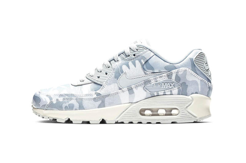 Nike Air Max 90 Winter Camo Pure Platinum Summit White