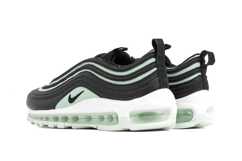 "Nike Air Force 97 Sneaker ""Black/Igloo"" Release Shoe Footwear Trainer Blue Ice Mint Green"