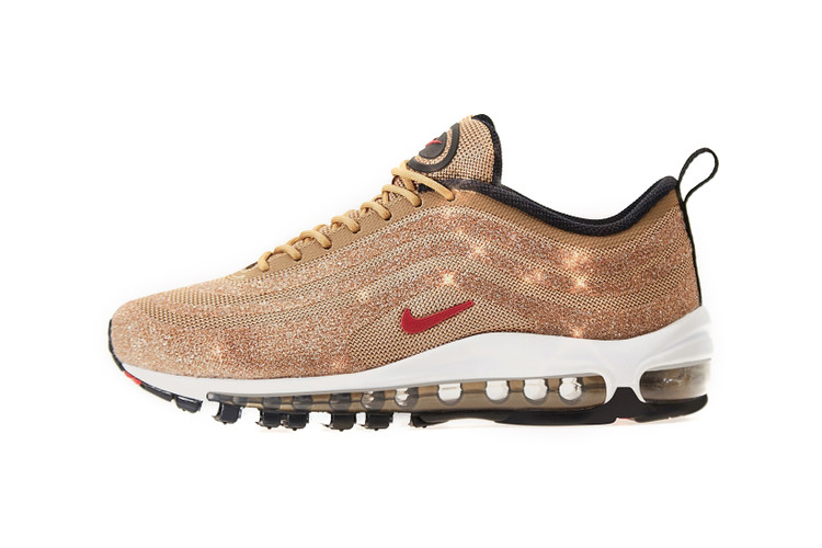5007774aad The Swarovski-Covered Nike Air Max 97
