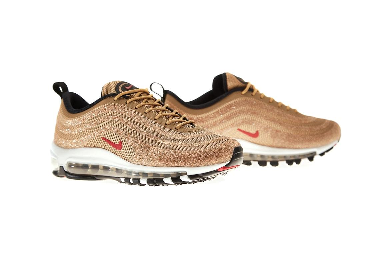 Nike Air Max 97 Swarovski Metallic Gold Release Hypebae