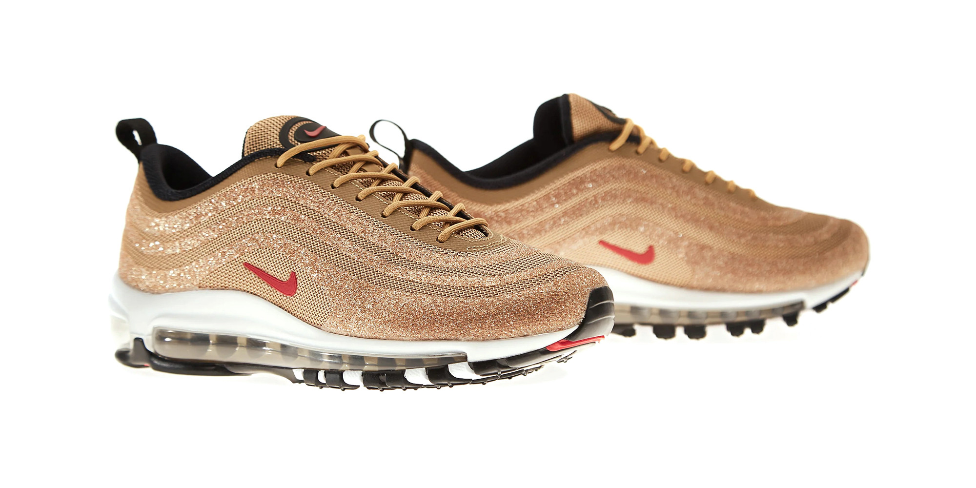Nike Air Max 97 Swarovski Metallic Gold