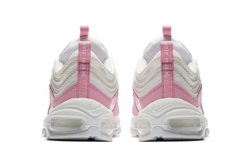 Nike Air Max 97 Pink/White Release Date Sneaker Shoe Footwear Drop Information