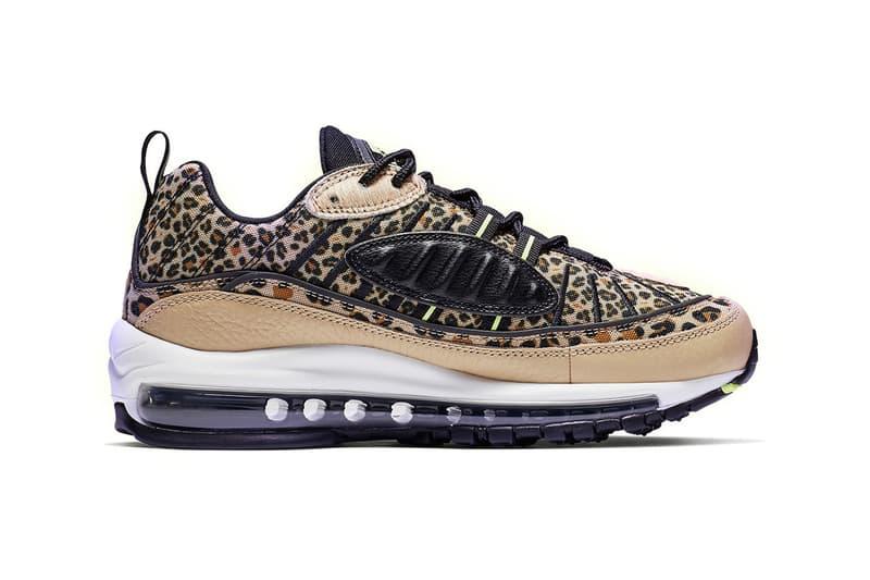 comprar oficial tienda de liquidación nueva alta calidad Nike Releases Air Max 98 Leopard Print Sneakers | HYPEBAE