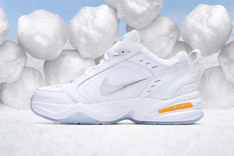 737808adbad Your Favorite Nike Dad Shoe Wears a Snowman Disguise in Latest Release