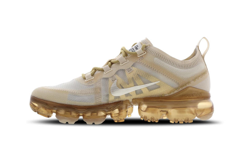 Nike Air VaporMax Metallic Gold Trainers Sneakers