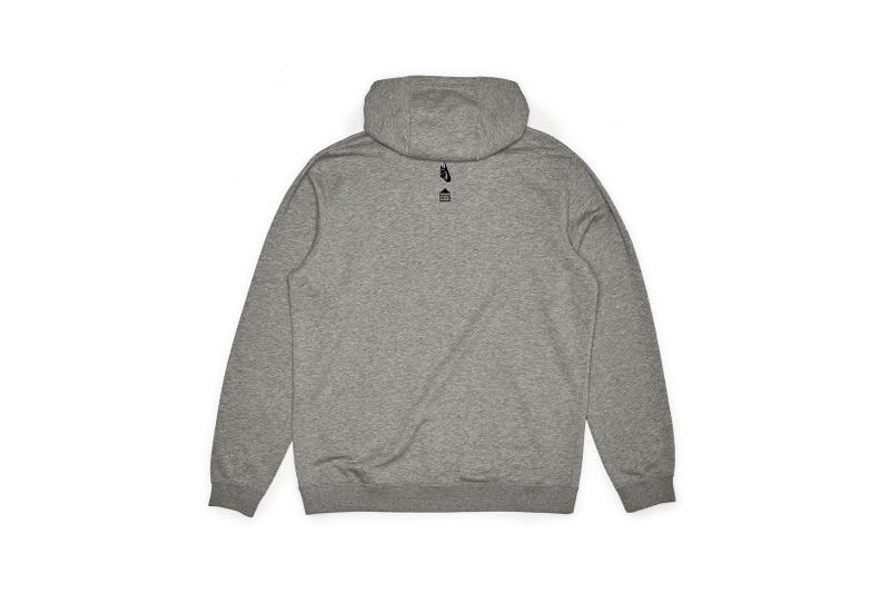 Nike x Dover Street Market Just Do It Hoodie Grey