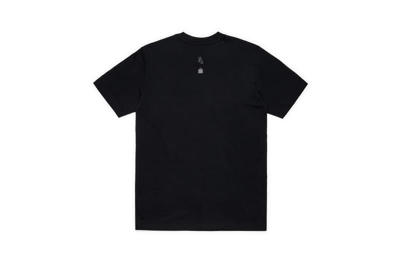 Nike x Dover Street Market Just Do It T-shirt Black